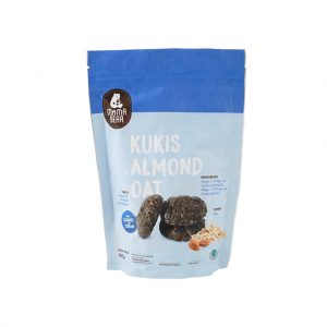 Kukis Almond Oat Cookies and Cream