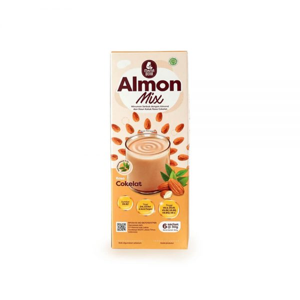 almond mix cokelat